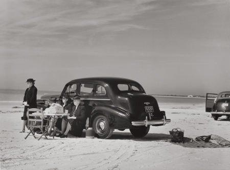 74004: MARION POST WOLCOTT (American, 1910-1990) Winter