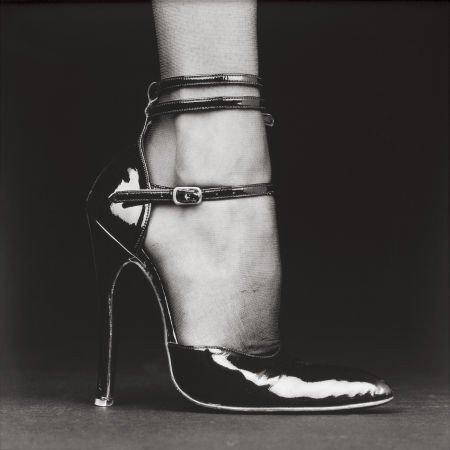 74180: ROBERT MAPPLETHORPE (American, 1946-1989) Shoe (