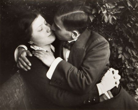 74010: ANDRÉ KERTÉSZ (Hungarian, 1894-1985) Lovers, Bud