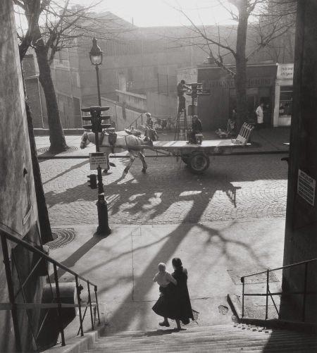 74015: WILLY RONIS (French, 1910-2009) Avenue Simon Bol