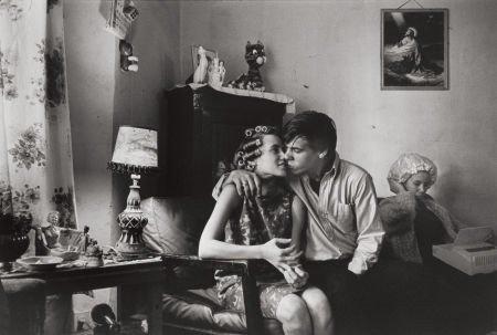 74020: DANNY LYON (American, b. 1942) Uptown Chicago, 1