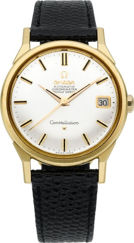 60001: Omega 18k Gold Constellation, circa 1950's