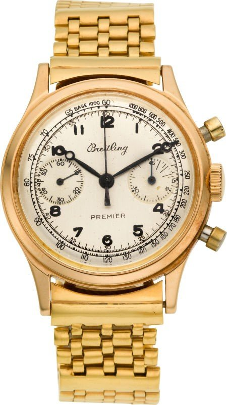 60014: Breitling Ref. 777 Waterproof 18k Rose Gold Prem