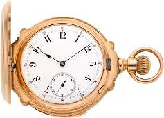 60230 LeCoultre Gold Five Minute Repeater circa 1895