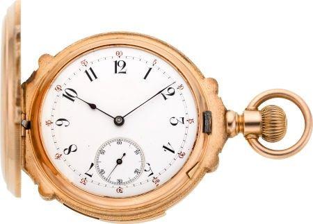 60230: LeCoultre Gold Five Minute Repeater, circa 1895