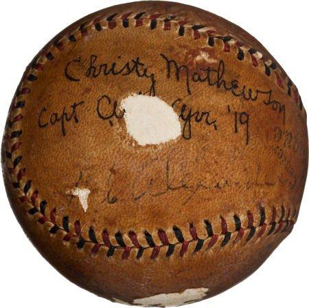 80828: 1919 Grover Cleveland Alexander & Christy Mathew