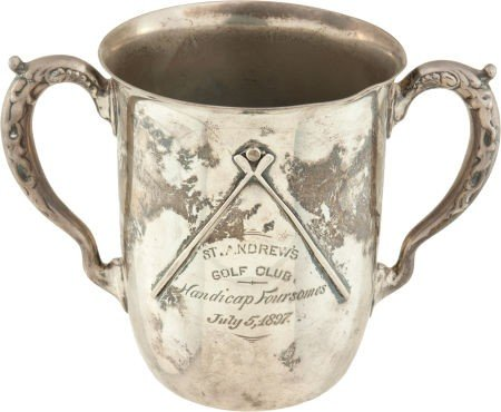 81138: 1897 St. Andrews Golf Club (Yonkers, NY) Trophy  - 2