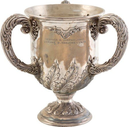 81141: 1915 Lynnewood Hall Cup Awarded to Jerry Travers - 3
