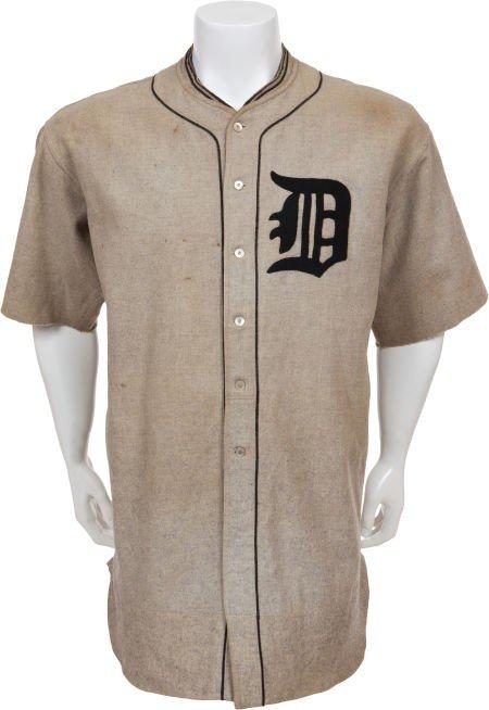 81359: 1922 Ty Cobb Game Worn Detroit Tigers Uniform.