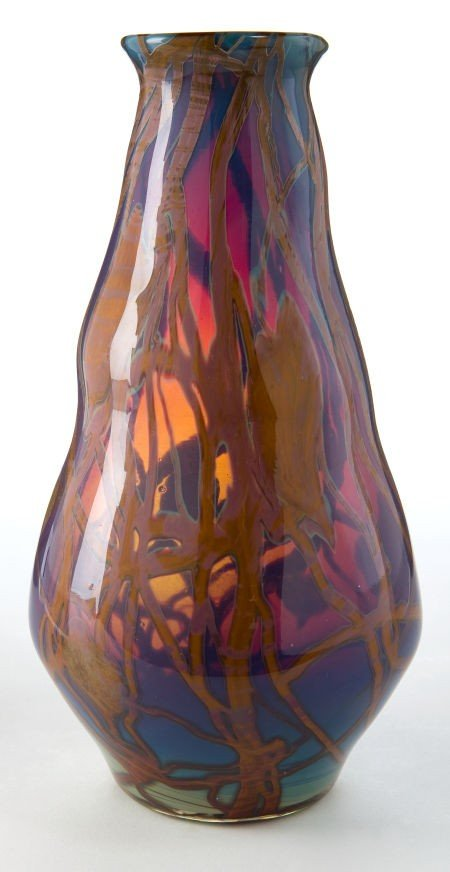 62024: TIFFANY STUDIOS FAVRILE GLASS VASE  Art Nouveau
