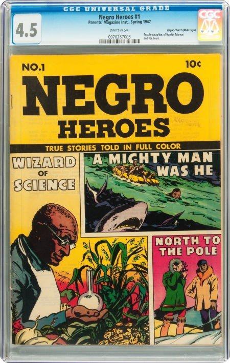 91020: Negro Heroes #1 Mile High pedigree (Parents' Mag