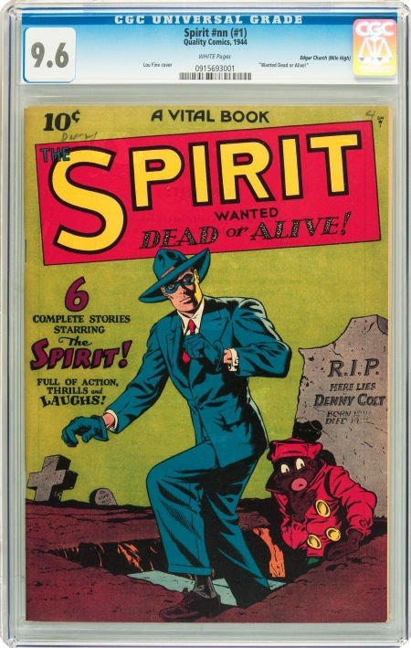 91023: The Spirit #nn (#1) Mile High pedigree (Quality,