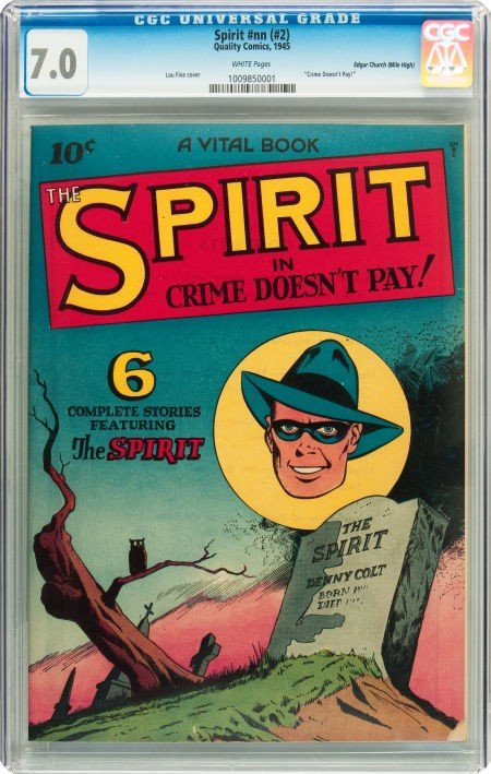 91024: The Spirit #nn (#2) Mile High pedigree (Quality,