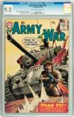 91149: Our Army at War #86 (DC, 1959) CGC NM- 9.2 Cream