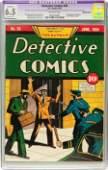 91211: Detective Comics #28 (DC, 1939) CGC Apparent FN+