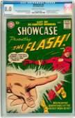 91174: Showcase #8 The Flash (DC, 1957) CGC VF 8.0 Crea