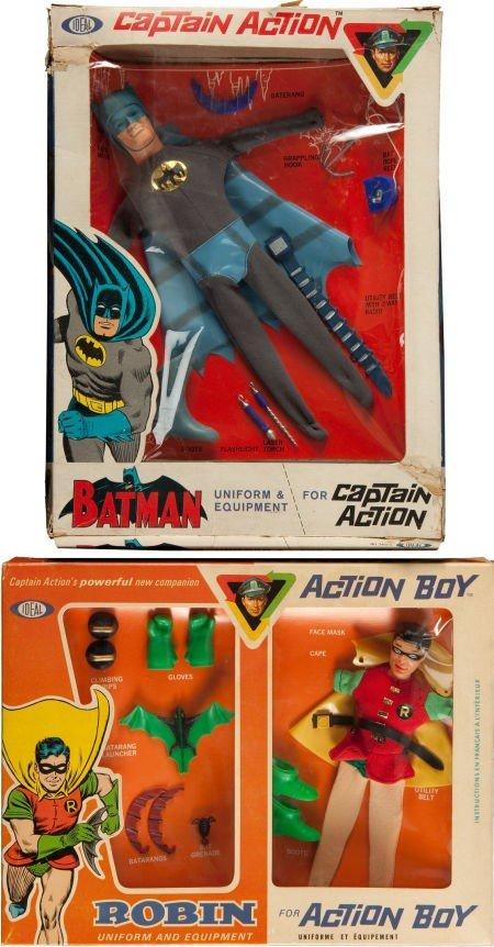 91234: Captain Action Batman and Robin Uniform and Equi