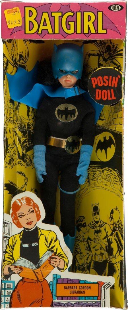 91236: Super Queens Batgirl Posin' Doll (Ideal, 1967).