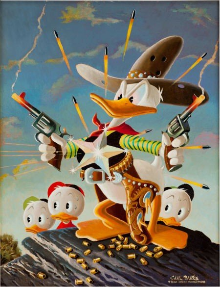 92001: Carl Barks Donald Duck Sheriff of Bullet Valley
