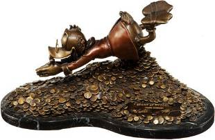 Carl Barks Sport of Tycoons Uncle Scrooge Figuri