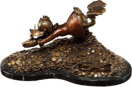 92008: Carl Barks Sport of Tycoons Uncle Scrooge Figuri