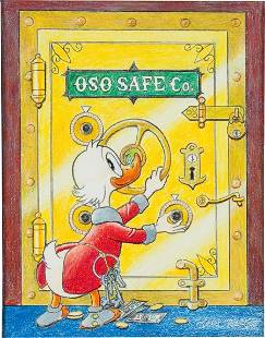 Carl Barks Barks Treasury - The Art of Carl Bark