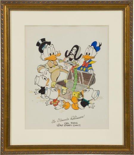 92010: Carl Barks Uncle Scrooge Specialty Illustration