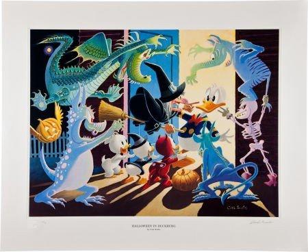 92011: Carl Barks Halloween in Duckburg Regular Edition