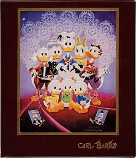 The Fine Art of Walt Disney's Donald Duck by Car