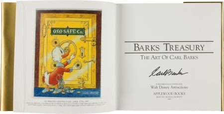 92014: Barks Treasury Gold Limited Edition with Signed