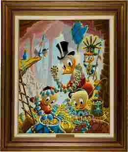 Carl Barks First National Bank of Cibola Oil Pai