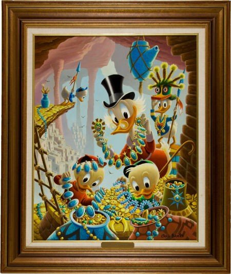 92017: Carl Barks First National Bank of Cibola Oil Pai