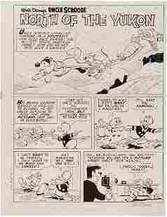 """Carl Barks Uncle Scrooge #59 """"North of the Yukon"""
