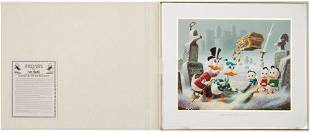 Carl Barks Dubious Doings at Dismal Downs Lithog