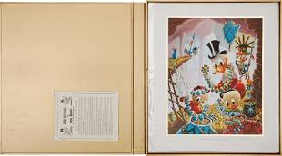 Carl Barks First National Bank of Cibola Lithogr
