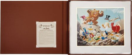 92023: Carl Barks Trespassers Will Be Ventilated Lithog