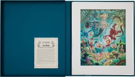 92024: Carl Barks The Makings of a Fish Story Lithograp