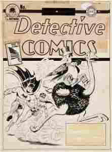 92034: Jerry Robinson Detective Comics #67 First Pengui