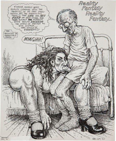 92411: Robert Crumb Reality Fantasy/Grotesque Burlesque