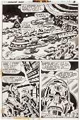 92189: Jack Kirby and Mike Royer Machine Man #5 page 28
