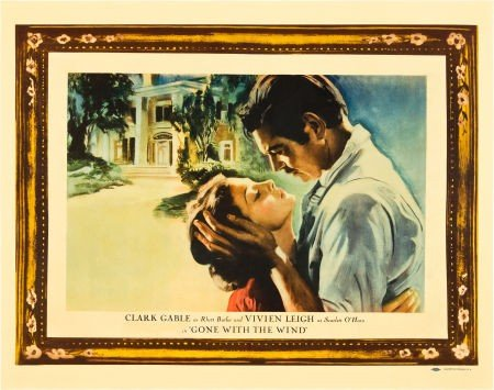 83002: Gone with the Wind (MGM, 1939). Half Sheet (22""