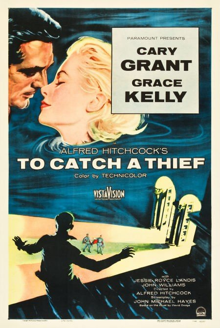 83024: To Catch a Thief (Paramount, 1955). One Sheet (2