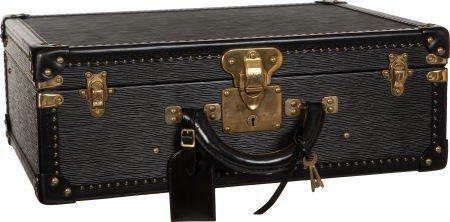 56162: Louis Vuitton Rare Black Epi Leather Special Ord