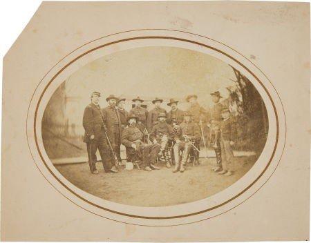 52019: Civil War Albumen Photograph of Gen. David McM G