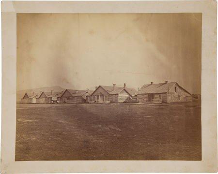 52023: Very Scarce Albumen Photographic View of Fort El