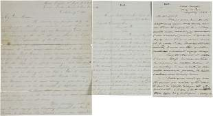 52058: [Civil War] Group of Three Union Letters includi