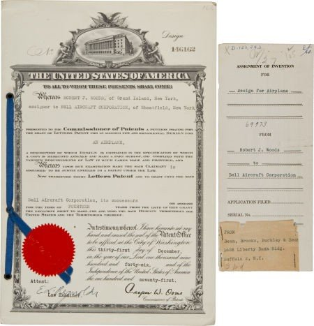40001: United States Letters Patent #146162 Issued to R