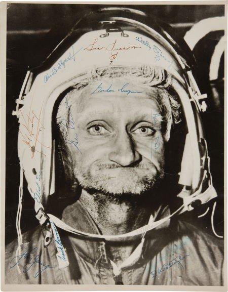 40008: Twenty-Three Early Astronaut Signatures on a Lar
