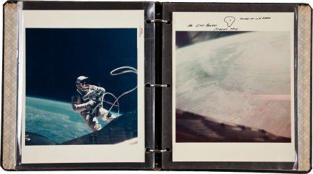 40017: Ed White II: Collection of Original NASA Gemini