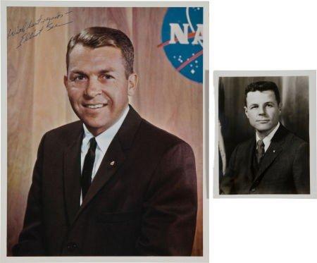 40023: Gemini 9 Original Crew: Signed Photos of Elliot